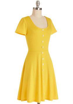 The Good Ol' Daisy Dress, #ModCloth
