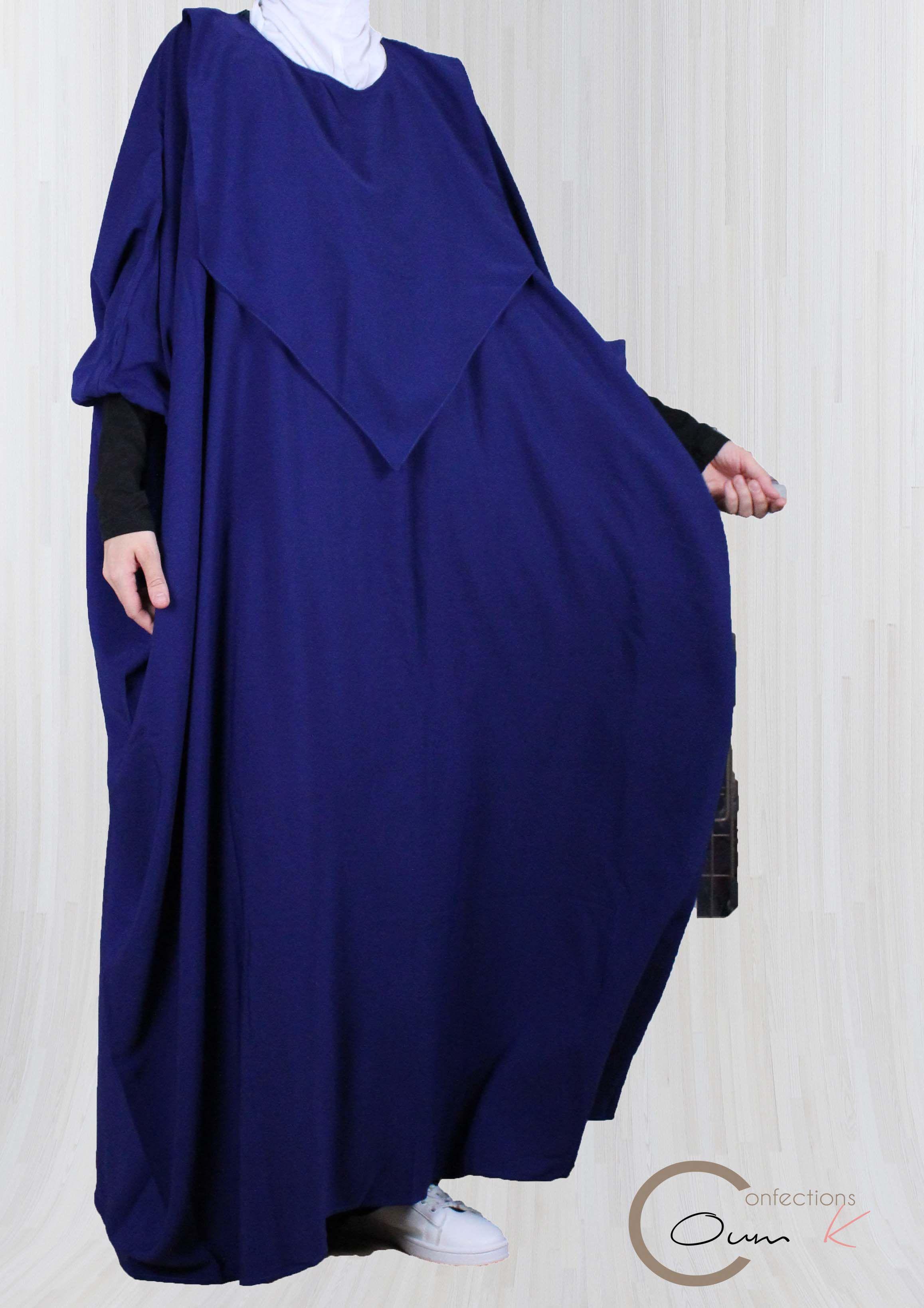 Abaya de maternage papillon pour l allaitement et éventuellement le portage  Dispose d un aaeaf4fcc9c