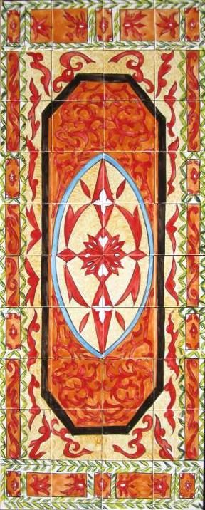 Decorative Pool Tile Entrancing Decorative Persian Tiles Persian Design Mosaic Panel Hand Painted Design Inspiration