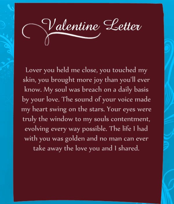 day adult letters valentines