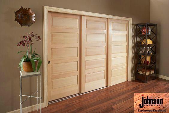 3 Door Sliding Multi Pass Pocket Door Installation Johnson