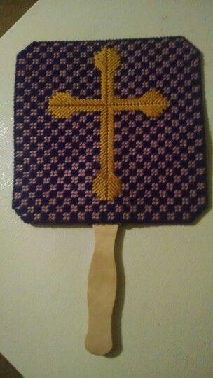 Handheld fan (Cross) $5