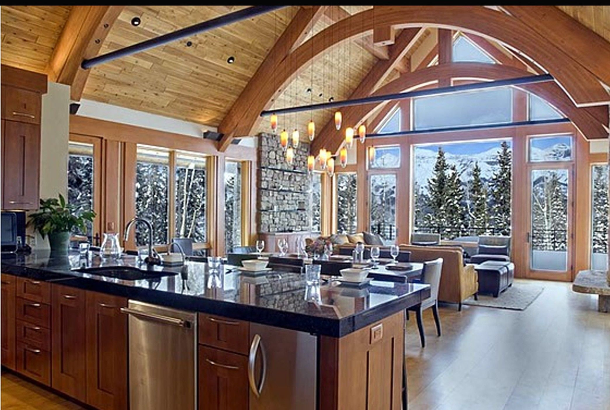 6 Dream Kitchens For Holiday Cooking And Entertaining | Kitchens ...