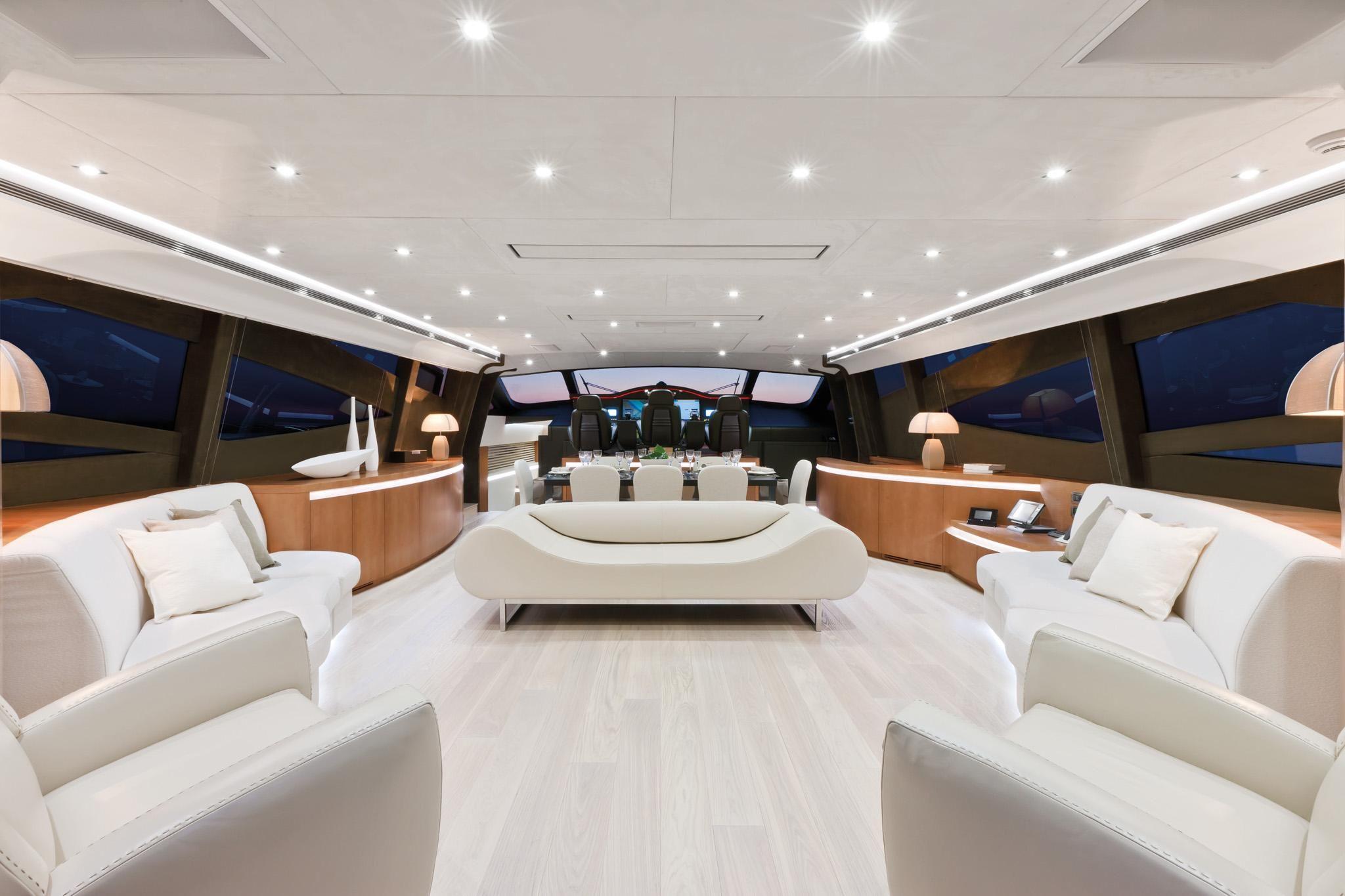 Luxury superyacht keyla interior by hot lab luxury yacht charter - Internal View Pershing Yacht Pershing 115 Motor Yachtsyacht Interiorthe Yachtsuper Yachtsyacht Designluxury