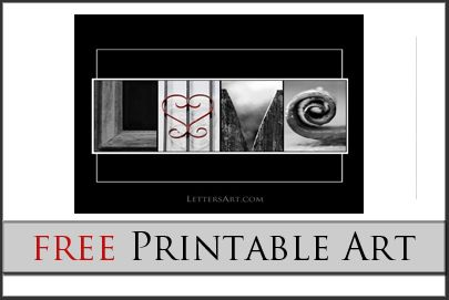 free printable alphabet photography letters