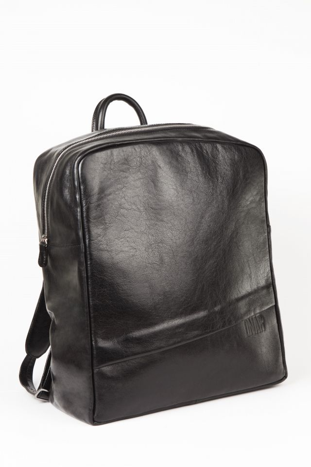 c5c9cc395dd4 808 Black Leather Backpack