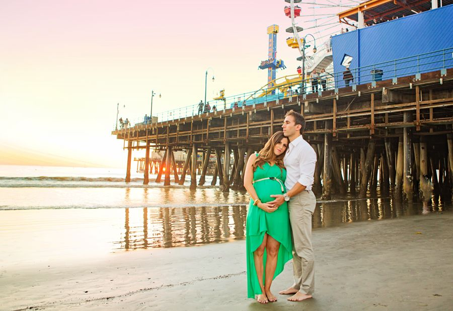 Santa Monica Newborn Photography