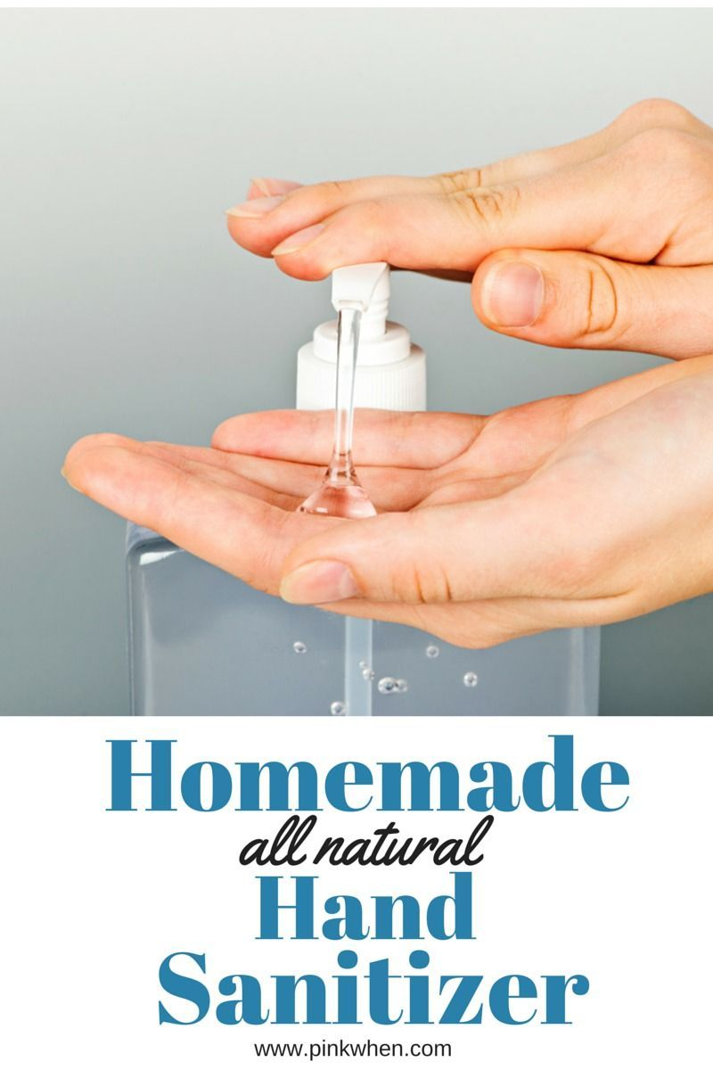 Diy Homemade All Natural Hand Sanitizer Natural Hand Sanitizer