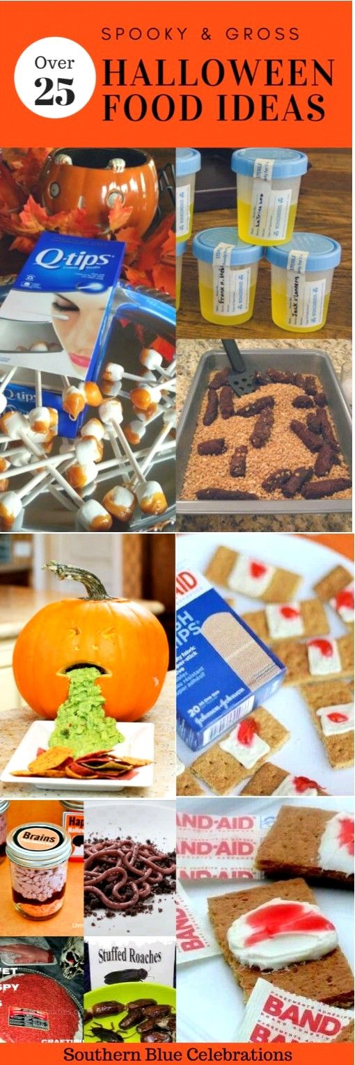SPOOKY (AND SOMETIMES GROSS) HALLOWEEN FOOD IDEAS Autumn - pinterest halloween food ideas