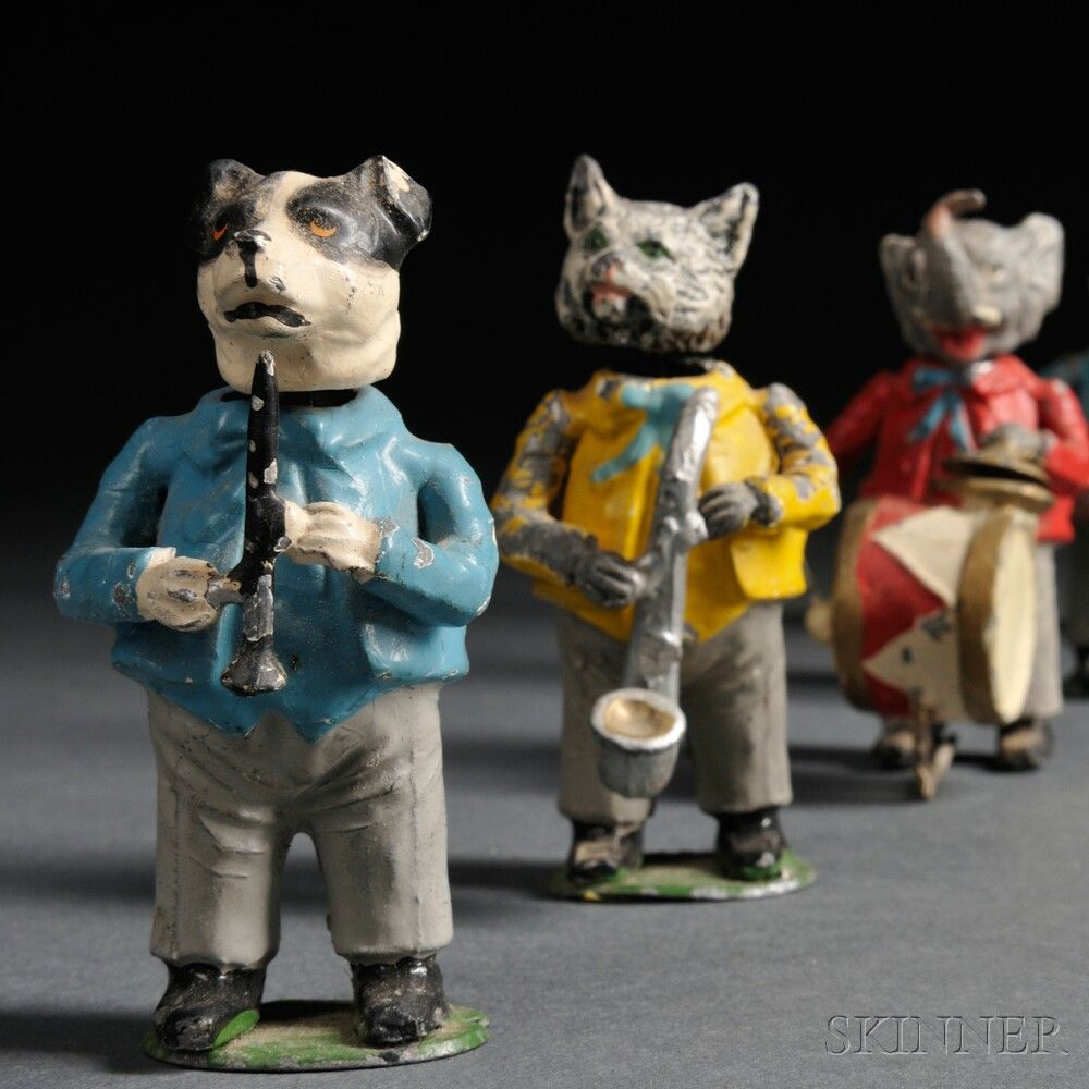 German Lead Nodding Animal Band Animals Animal Pictures Ceramic Animals