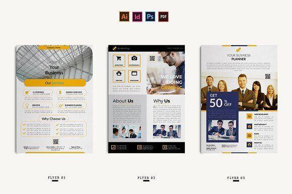 Corporate Flyer By Ahsanjaya On Creativemarket Openday