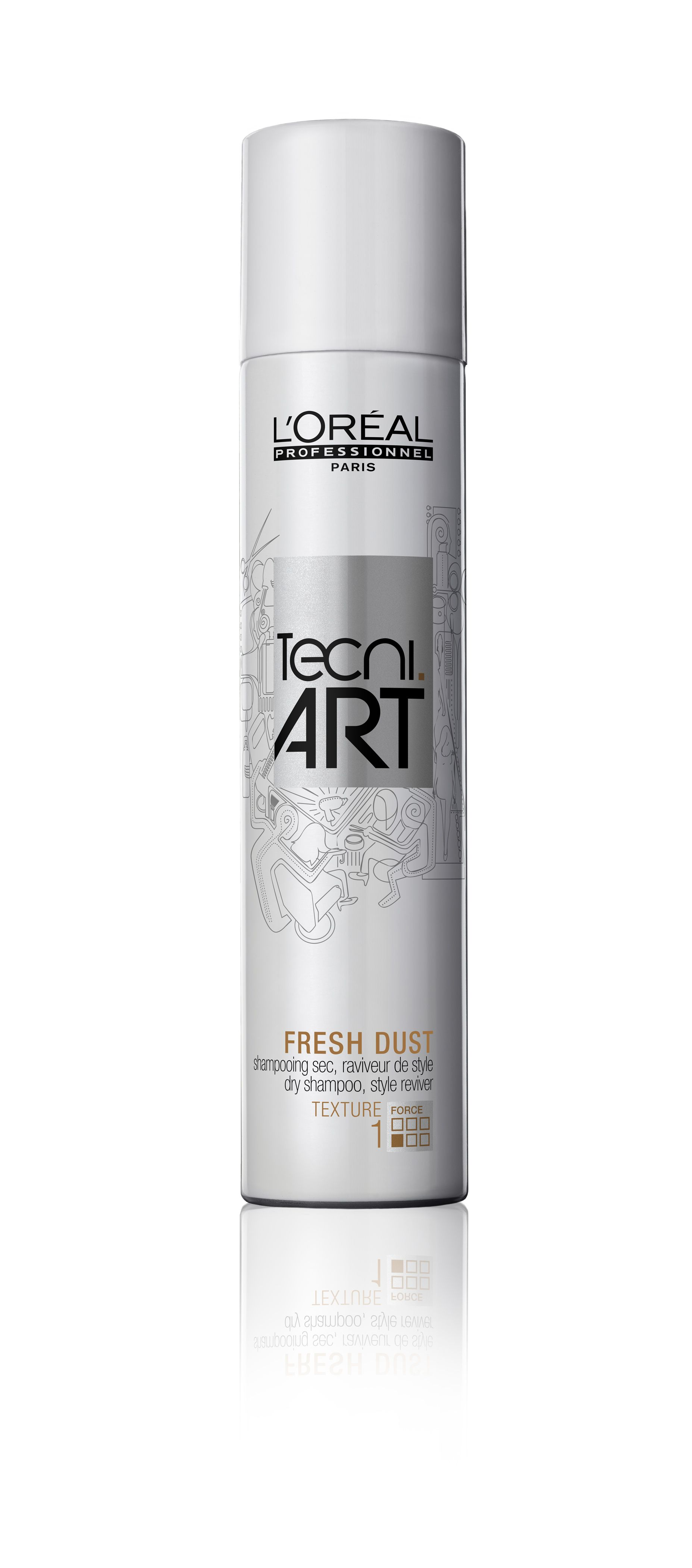 L Oreal Professionnel Tecni Art Texture Fresh Dust Dry Shampoo Style Reviver 150ml Dry Shampoo Shampoo Loreal