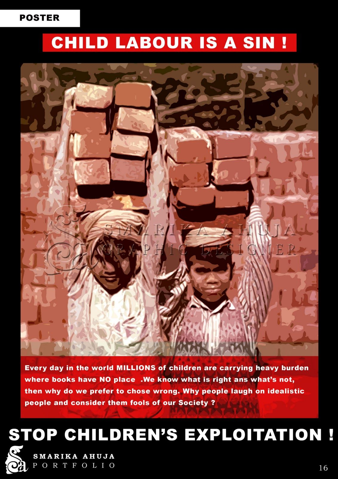 powerful advertisements to stop child labour from the blog child labour poster jpg 1131times1600