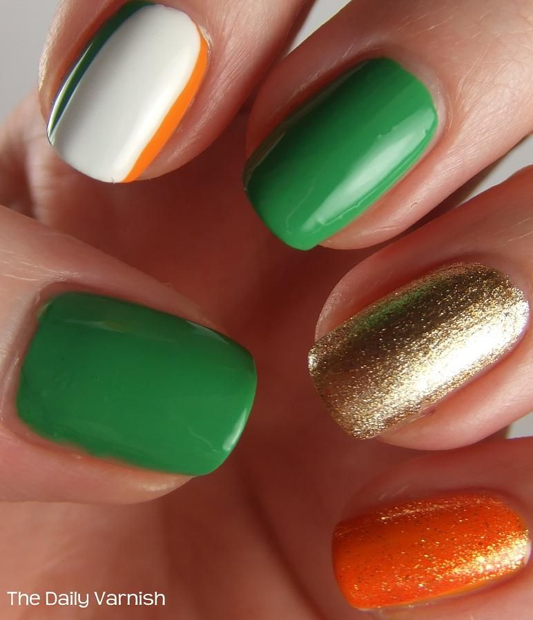 St. Patrick's Day Manicure 2013 | Irish nails, St patricks ...