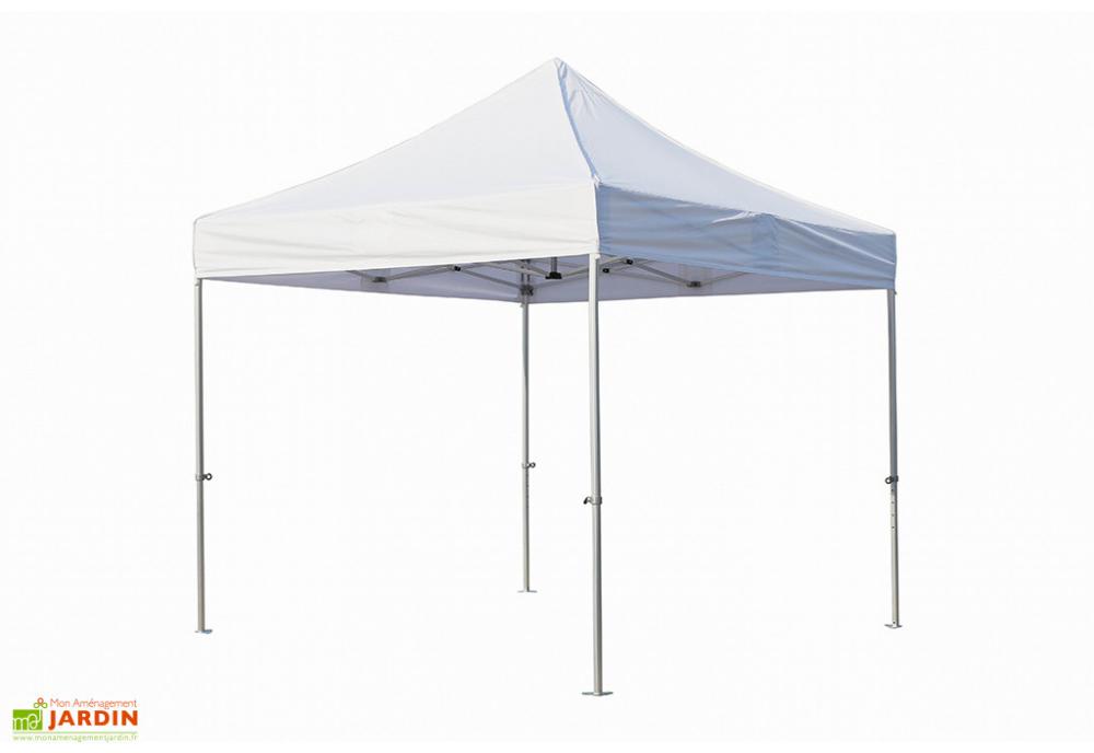 Tente Reception Pliante 3x3 Semi Pro Alu Toile Polyester 300gr M Tente Reception Tonnelle Bois Autoclave