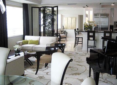Condo Living Room Decorating Ideas Open concept Pinterest