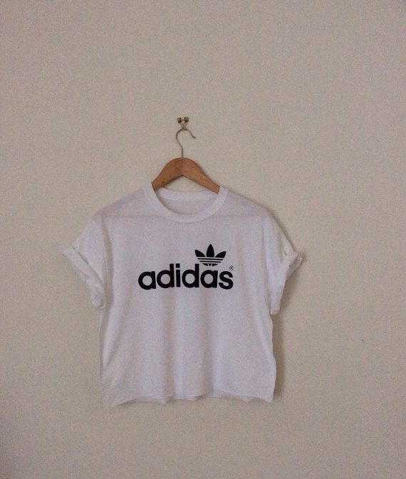 7822fdc82 classic back adidas swag style crop top by 0BubblegumBoutique0 ...