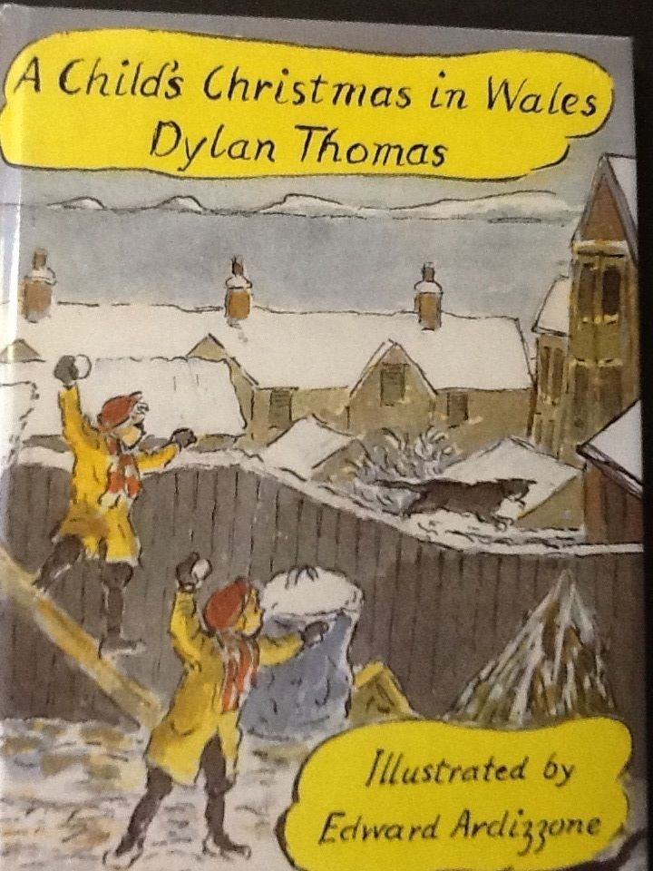 dylan thomas christmas in wales