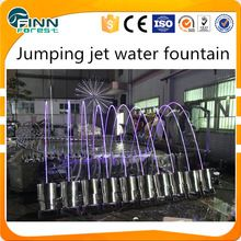 Different Sizes Colorful Laminar Jumping Jet Water Fountain For Sale Water Fountain Fountains For Sale Beautiful Backyards