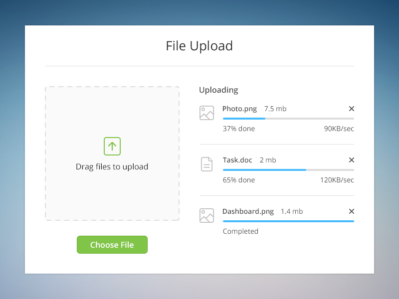Pin on UX/ UI File Upload/ Loading