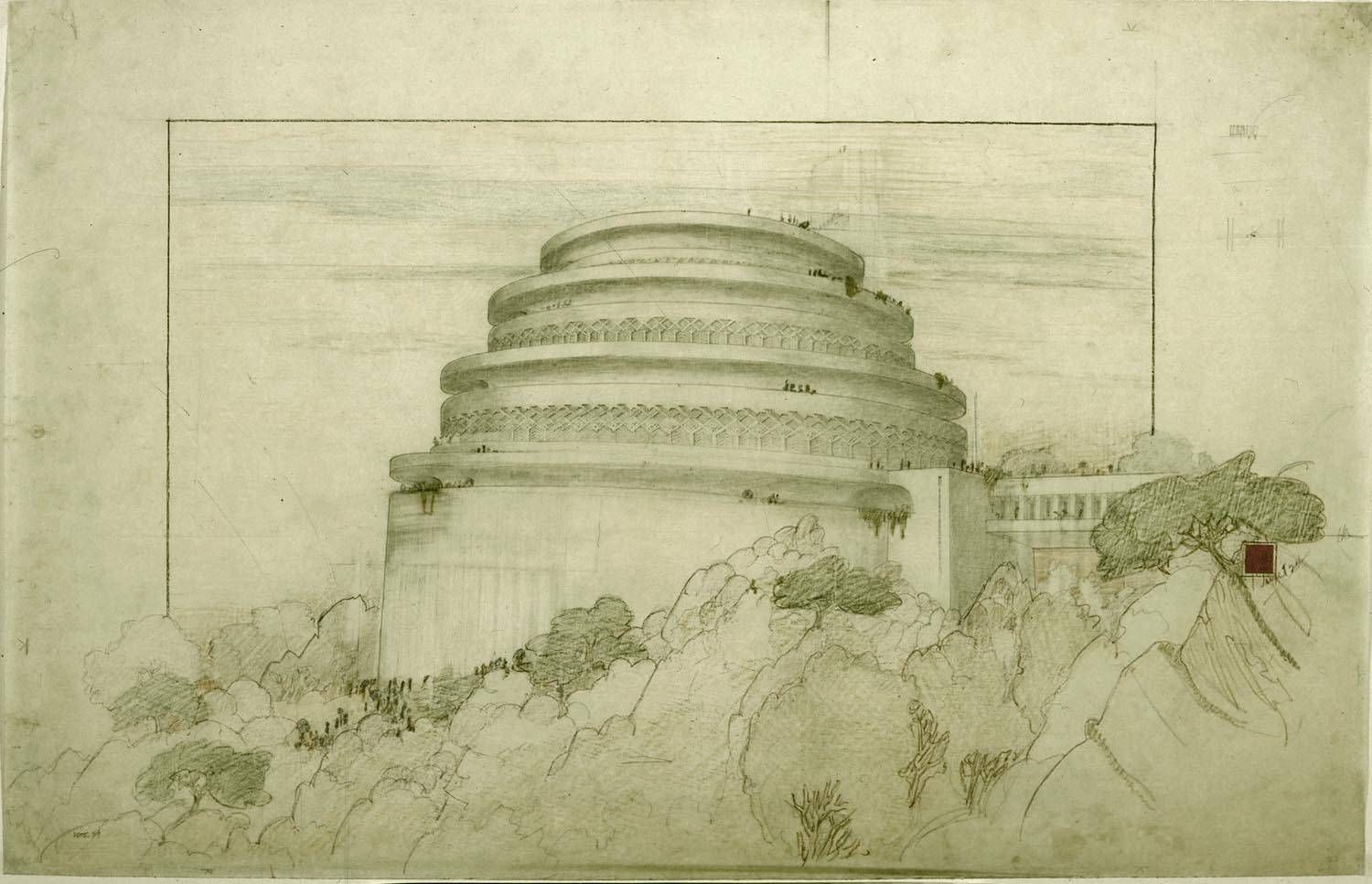 10 Architectural Drawings by Famous Architects | Lloyd wright ...