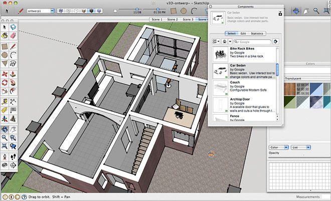 interieur programma sketchup - interieur   Pinterest - Voor het ...