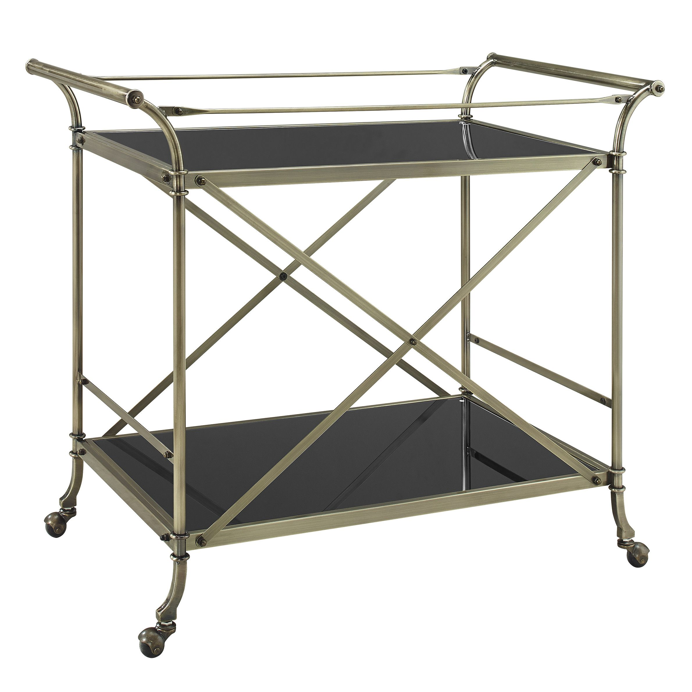 Powell Furniture Serving Cart | New Great Room Inspiration ...