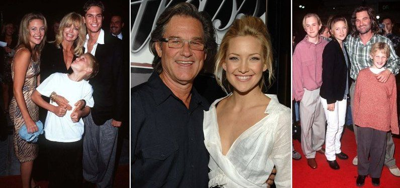 kurt russell and Kate Hudson | Goldie hawn kids, Kate ...
