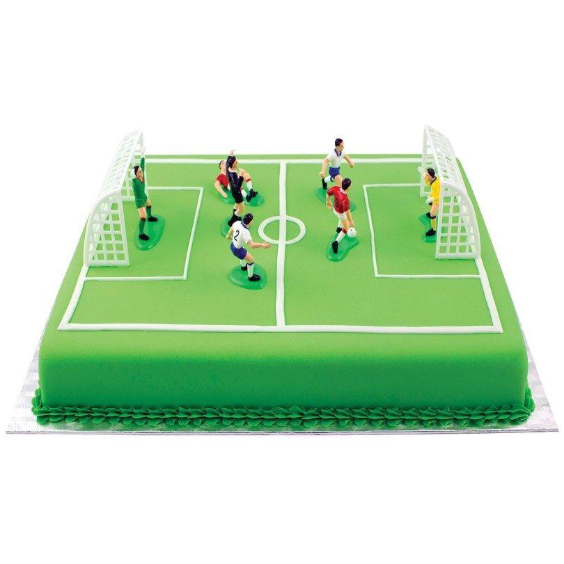 "I Love Hockey Round 8/"" 20cm Icing Cake Topper Decoration Birthday Event"