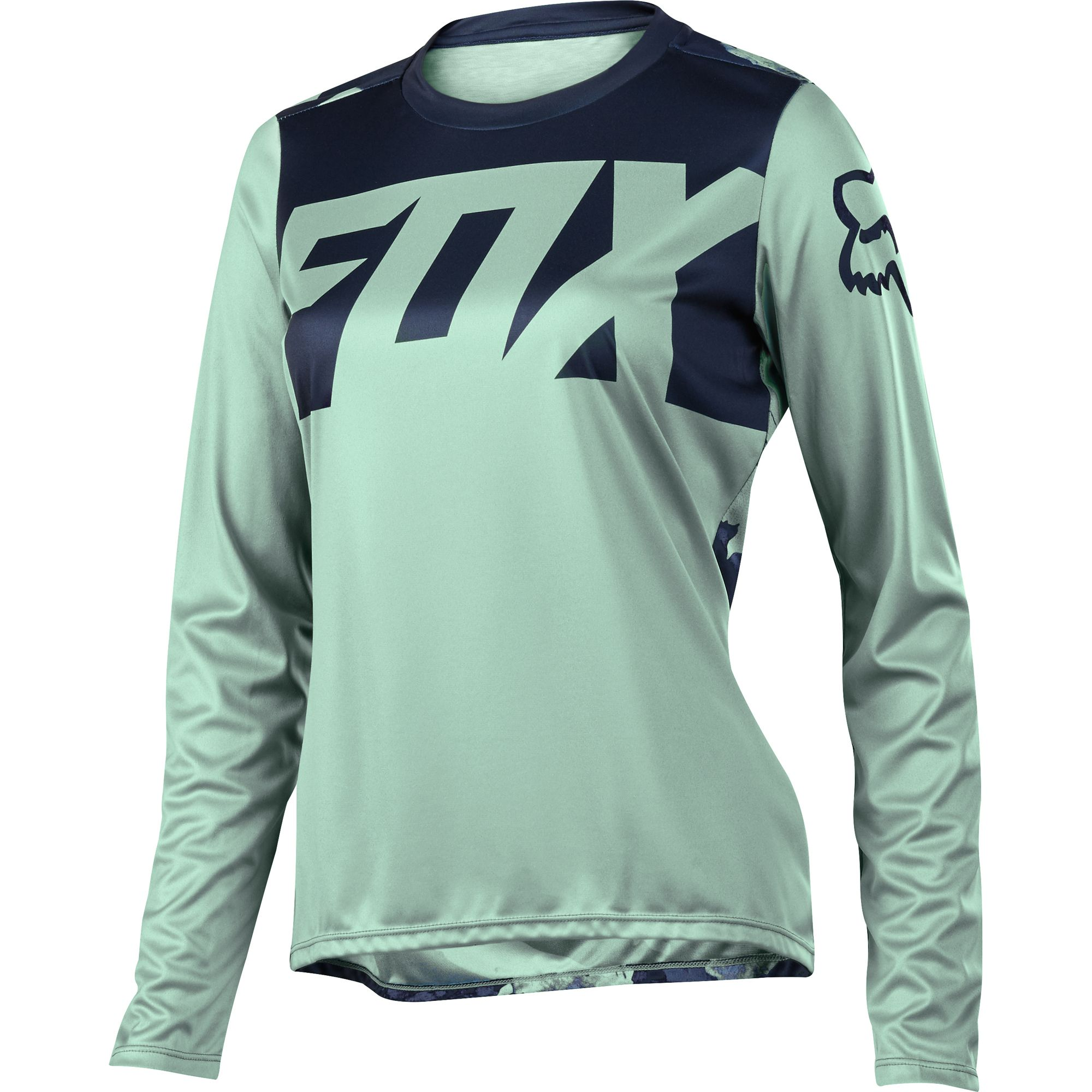 Image Result For Fox Ripley Women S Long Sleeve Mtb Jersey Sage Nz Fox Racing Clothing Fox Racing Fox Clothing