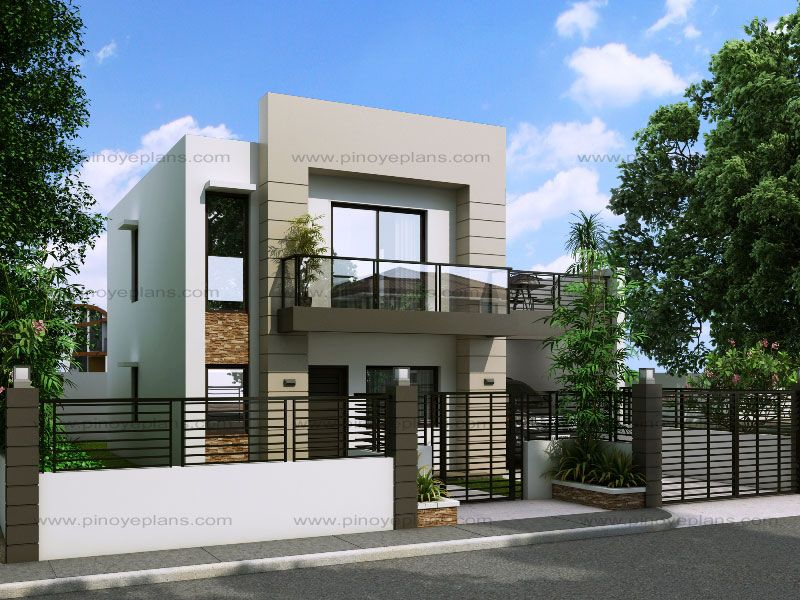 Modern House Design Series Mhd 2014014 Pinoy Eplans Small