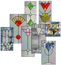 Easy Stained Glass Patterns for Beginners | Craft Materials and ...