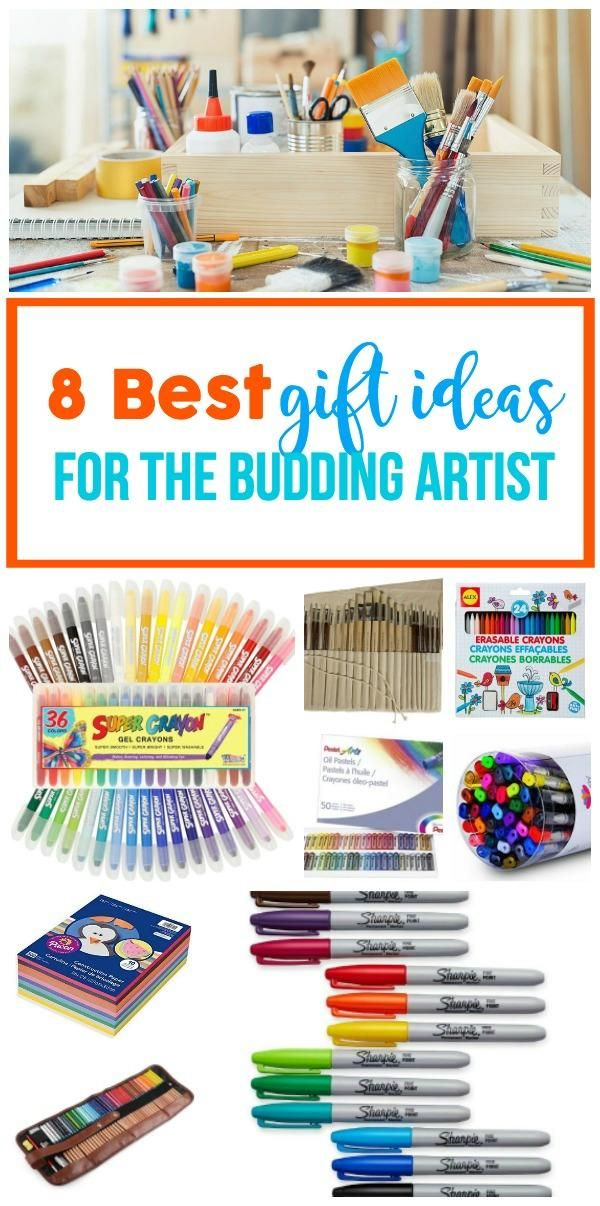 Art Supplies Birthday Gift Ideas For Kids Drawing Sharpies Oil Pastels Paint