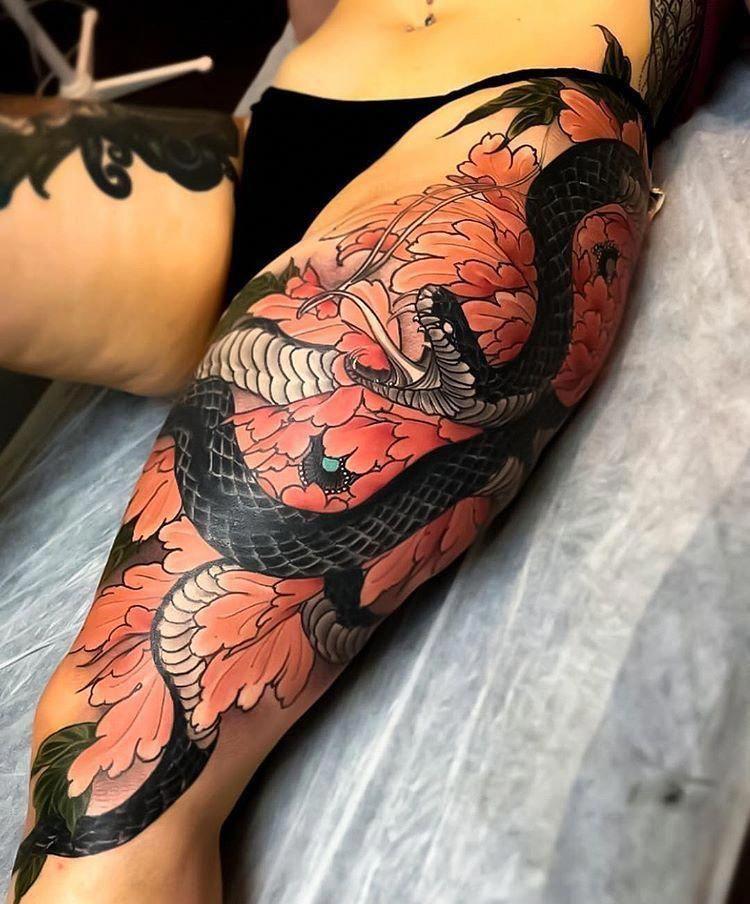 Japanese Tattoos Gallery Japanesetattoos Leg Tattoos Japanese Tattoo Japanese Tattoo Women