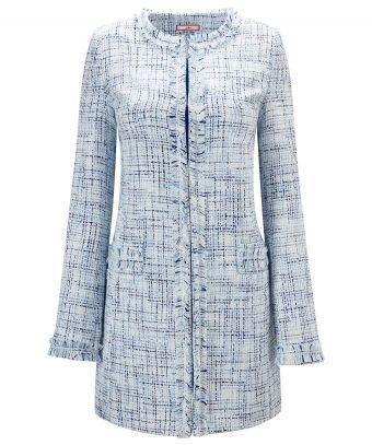 Joe Browns Damen Remarkable Velvet Jacket Mantel