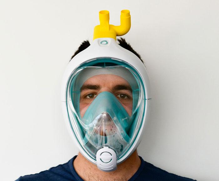Italian Engineers Turn Snorkeling Masks Into LifeSaving