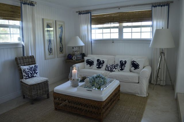 CHIC COASTAL LIVING: A HomeGoods Happy Room Make Over