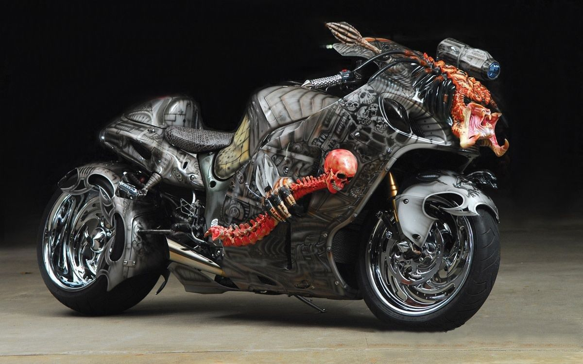 "suzuki hayabusa - ""the predator bike"" - motorcycles photo (31545125"