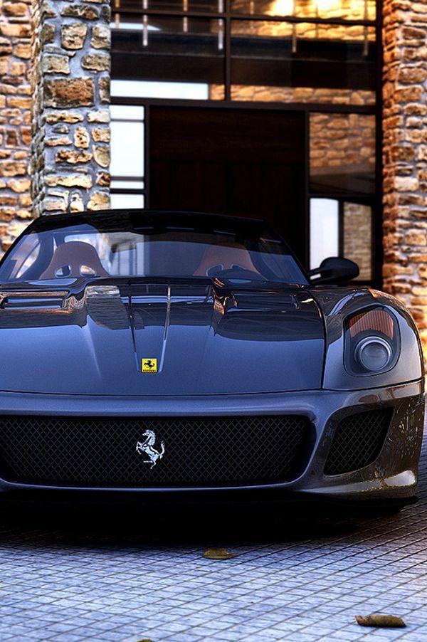 Awesome Cars luxury 2017: Ferrari 599 GTO..¿Quieres así uno en tu garaje? Ahora puedes aquí www.coche... luxury cars