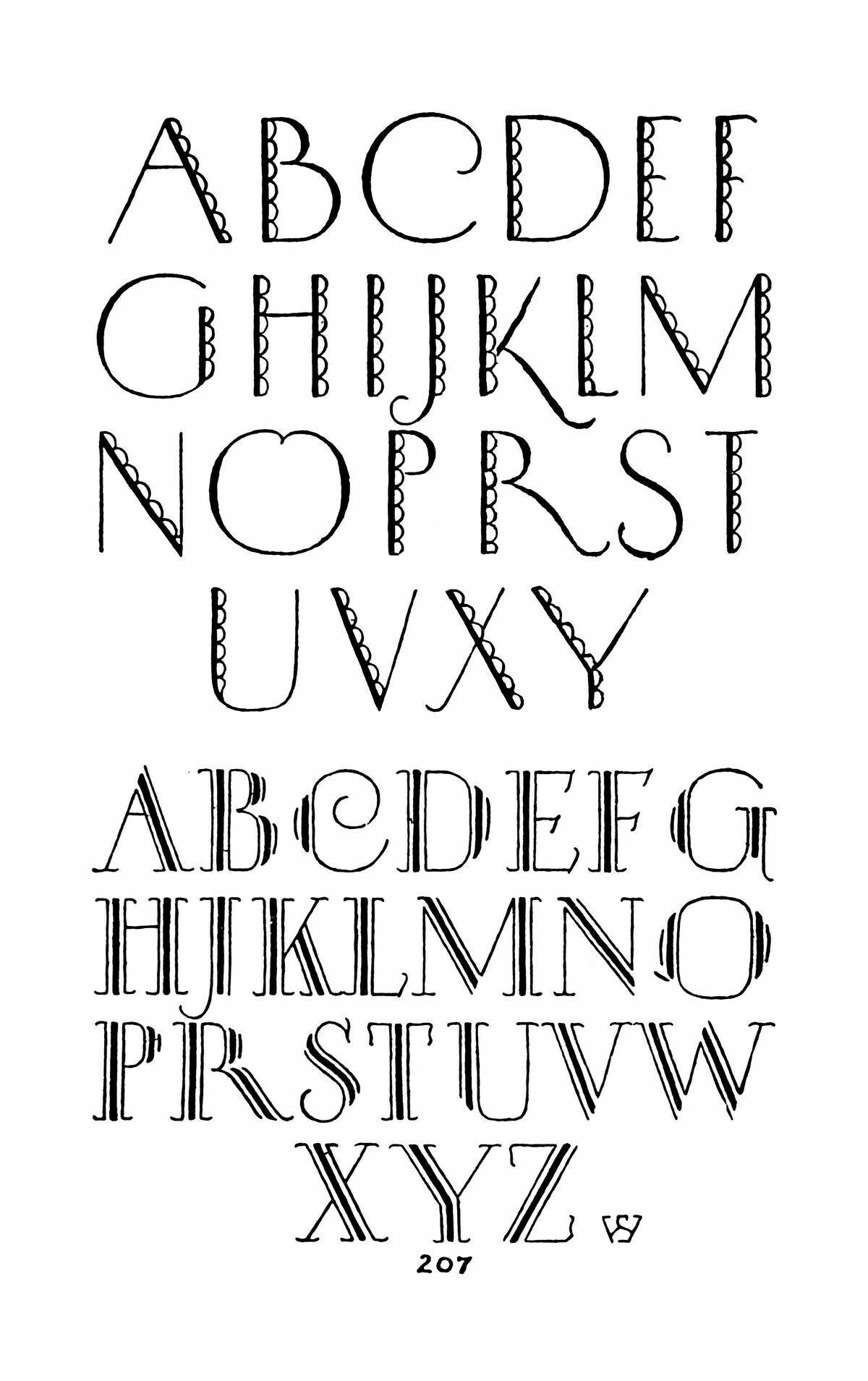 Pin On Alphabet Designs