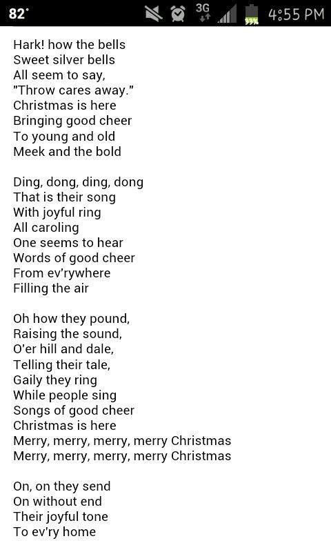 Carol of the bells | Christmas lyrics, Christmas carols lyrics, Xmas songs