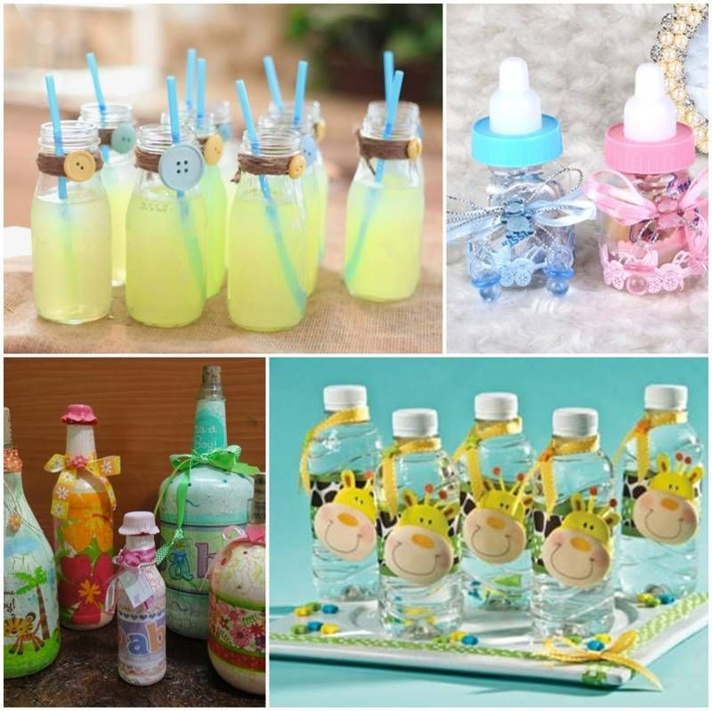 Botellas Decoradas Para Baby Shower