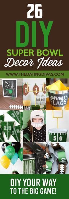 101 Super Bowl Party Ideas Super Bowl Decorations Superbowl Party Diy Super Bowl