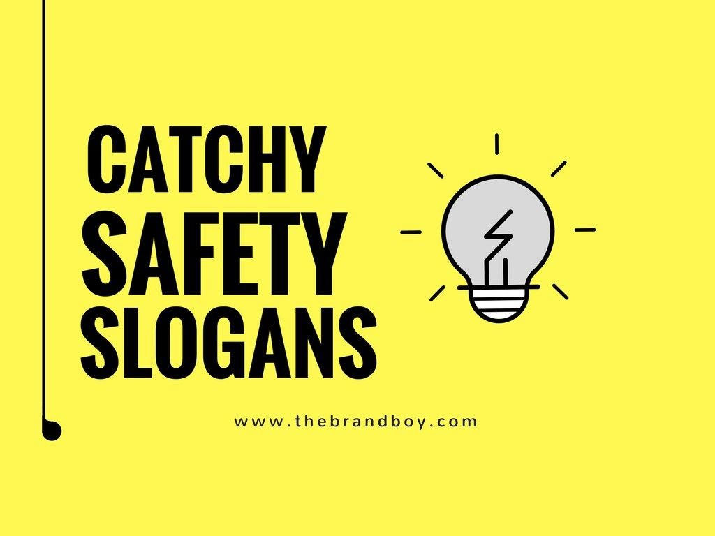 139+ Most Catchy Safety Slogans For Workplace | Catchy ...