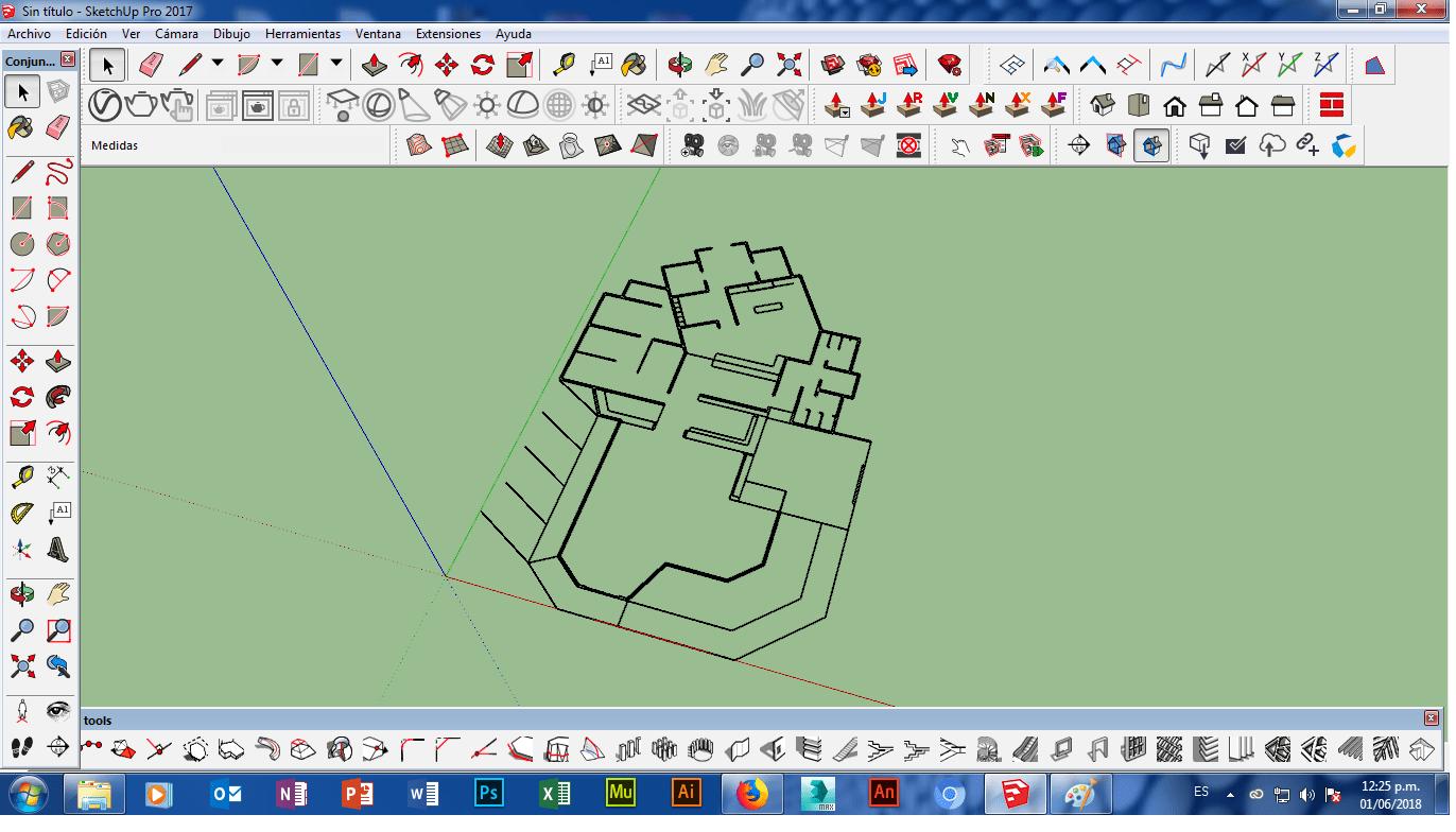 Solucion De Impotar Un Dwg A Sketchup En Computadora Windows Extensiones Computadora