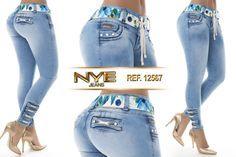 Pantalón colombiano NYE  Modelos en: www.ropadesdecolo... #pantalón #pantalones #pantalonescolombianos #moda #jeans #pantalon #pushup #levantacola #ventas #online #modadama #modalatina   Supernatural Sty