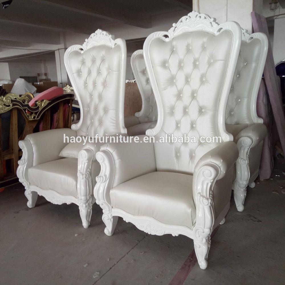 Hb15 Barato Rey Trono Silla Silla Trono Real Rey Silla Trono  # Muebles Victorianos Baratos