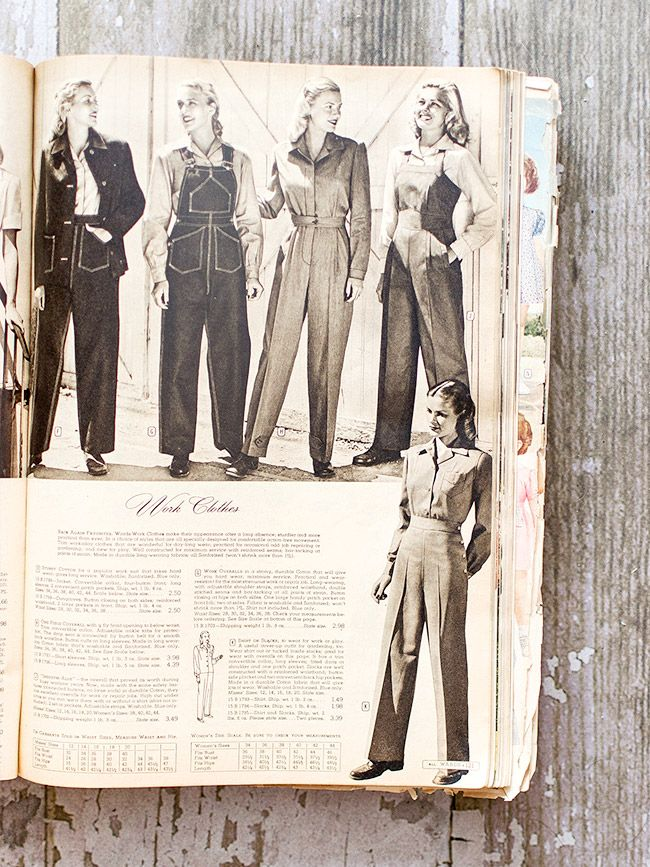 Vintage Montgomery Ward Catalog | Fall-Winter 1946-1947 - this is ...