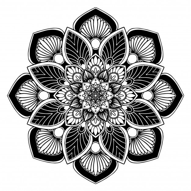 Photo of Mandalas Coloring Book, Oriental Therapy