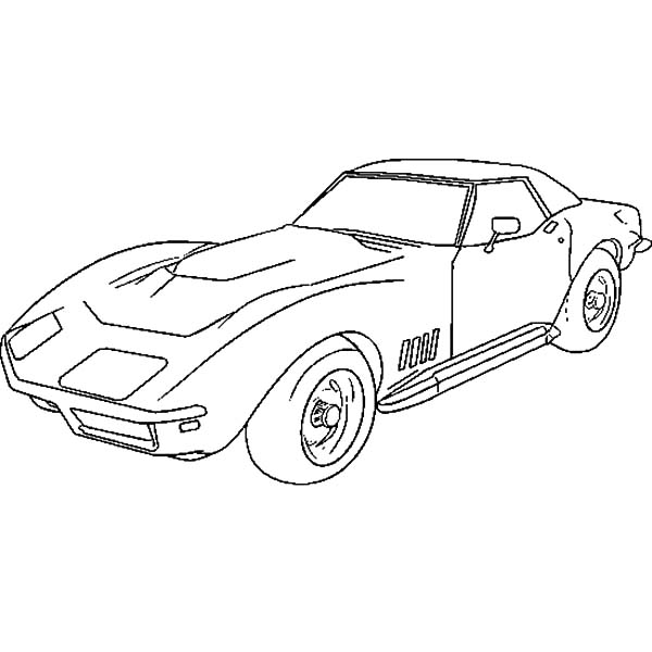 Corvette C7 Coloring Page Cars Coloring Pages Race Car Coloring Pages Corvette Stingray